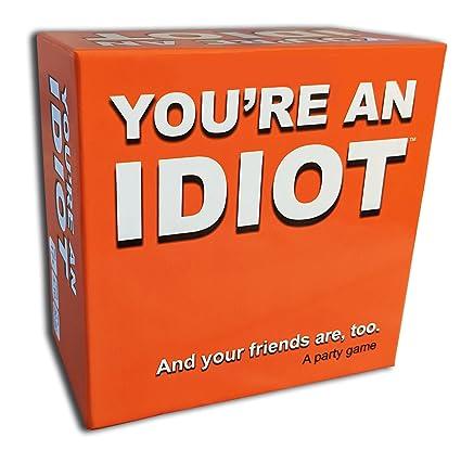 Amazon.com: Youre An Idiot – Juego de fiesta para adultos ...