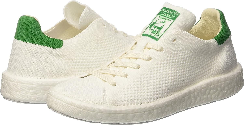 White adidas Originals Mens Stan Smith Primeknit Trainers
