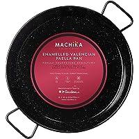 Machika Enameled Steel Paella Pan 10 inch (26 cm)