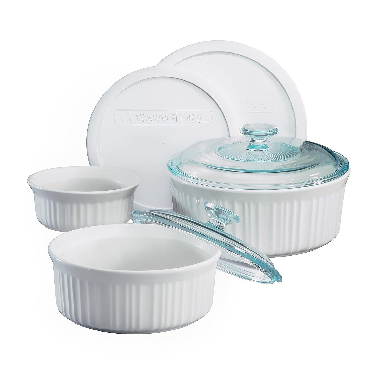 Corningware 1048149 Corningware French White 7-Pc Set