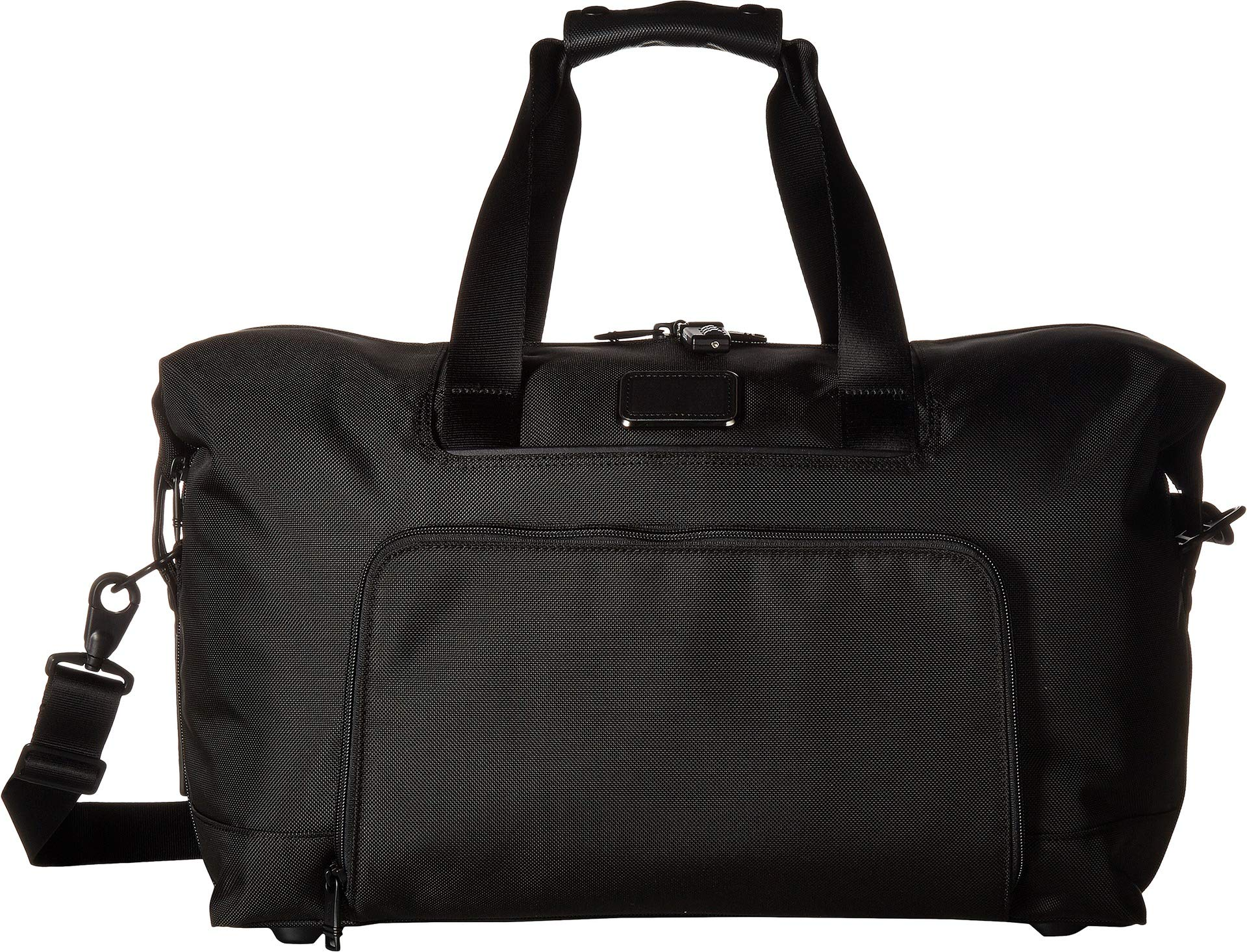 TUMI - Alpha 3 Double Expansion Travel Satchel - Duffle Bag for Men and Women - Black