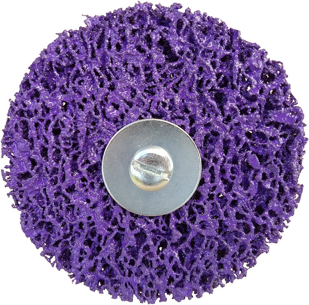 CBS cleaning disc for removing rust in purple Rostio CSD grinding disc