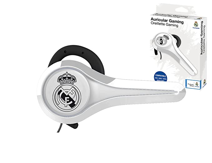 Subsonic - Auricular gaming y kit peatón licencia oficial Real Madrid compatible Playstation 4 - PS4