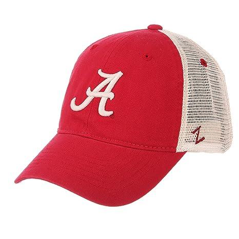 3a0c675ea13 Amazon.com   ZHATS Alabama Crimson Tide A Red University Mesh ...