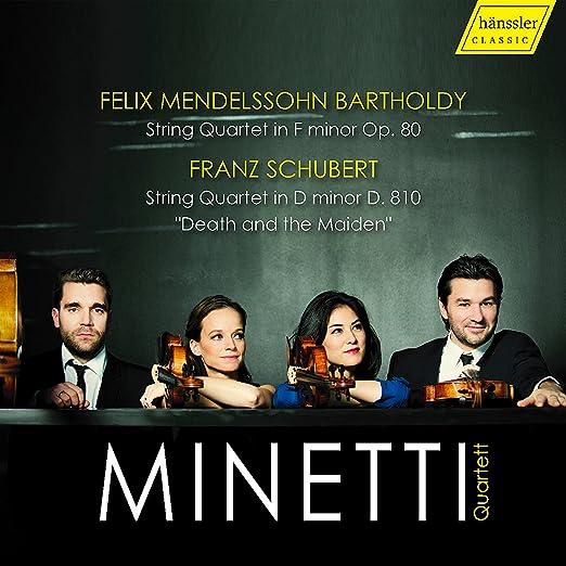 Mendelssohn: String Quartet 6/Schubert: Stri