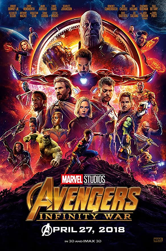 Infinity War Warmachine Movie Poster 24X36 or 16X24 Premium Gloss Poster