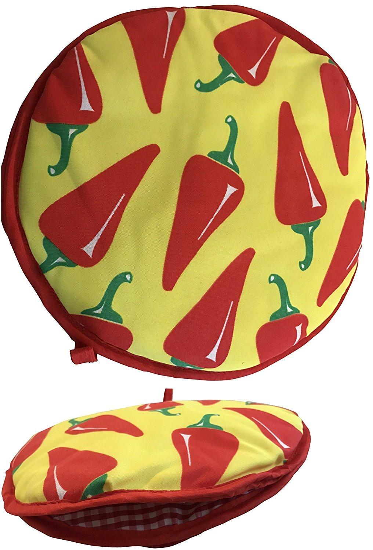 SNC Etc Premium Cloth Tortilla Warmer : Insulated : Microwave Safe : Holds 15 Tortillas COMIN18JU038902