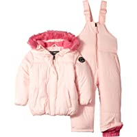 Steve Madden Baby Girls 2 Piece Nylon Snowsuit Set