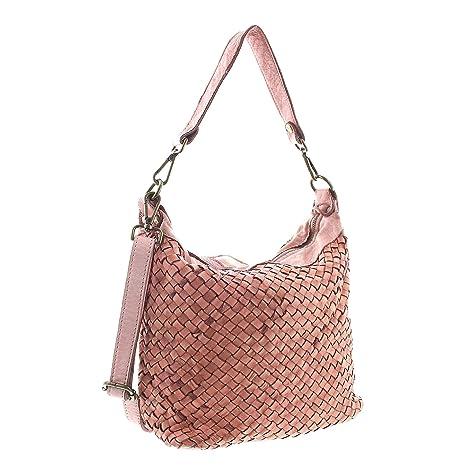 335c96c34649e MIO Day echt Leder Frauen Schultertasche Handtasche Shopper Damen  Umhängetasche Beutel Handtaschen
