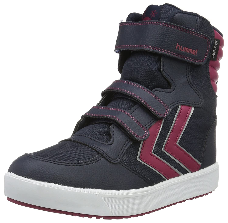 47e2fdc4ef2 hummel Unisex Kids Low-Top Sneakers Blue Size: 40 EU: Amazon.co.uk: Shoes &  Bags