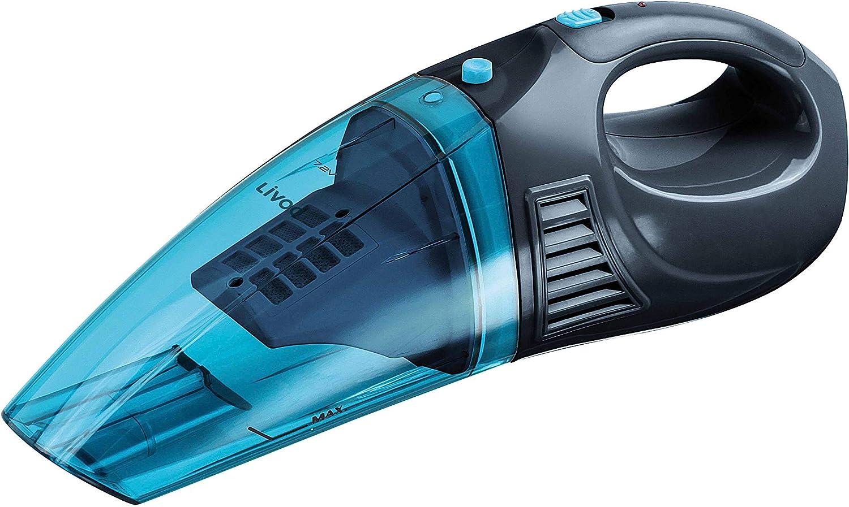 Aspiradora de mano agua y polvo (azul: Amazon.es: Hogar