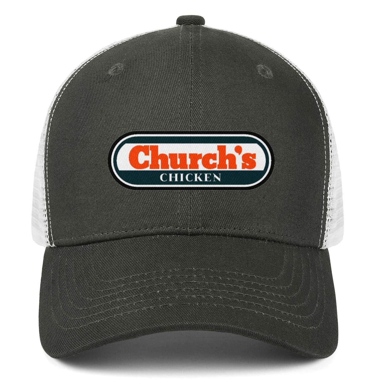WintyHC Logo-Churchs Chicken Cowboy Hat Trucker Hat Adjustable Fits Baseball Cap