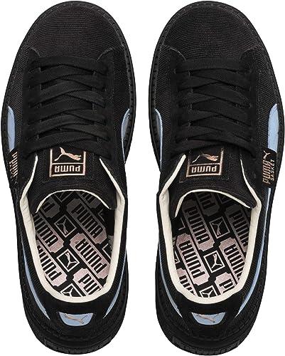Puma Sneakers Platform Trace Corduroy Wn's Nero Celeste