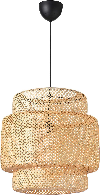 Ikea 703 150 30 Sinnerlig Pendant Lamp Bamboo