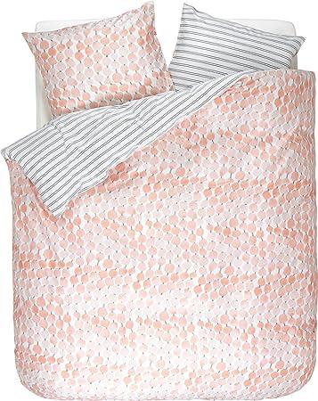 Esprit Bettwäsche Krisa Coral Pink 155 X 220 Cm Amazonde