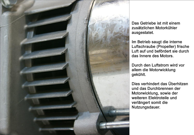 LÖWENHERTZ® Stromerzeuger Generator Aggregat mit Starkstrom, 3x ...