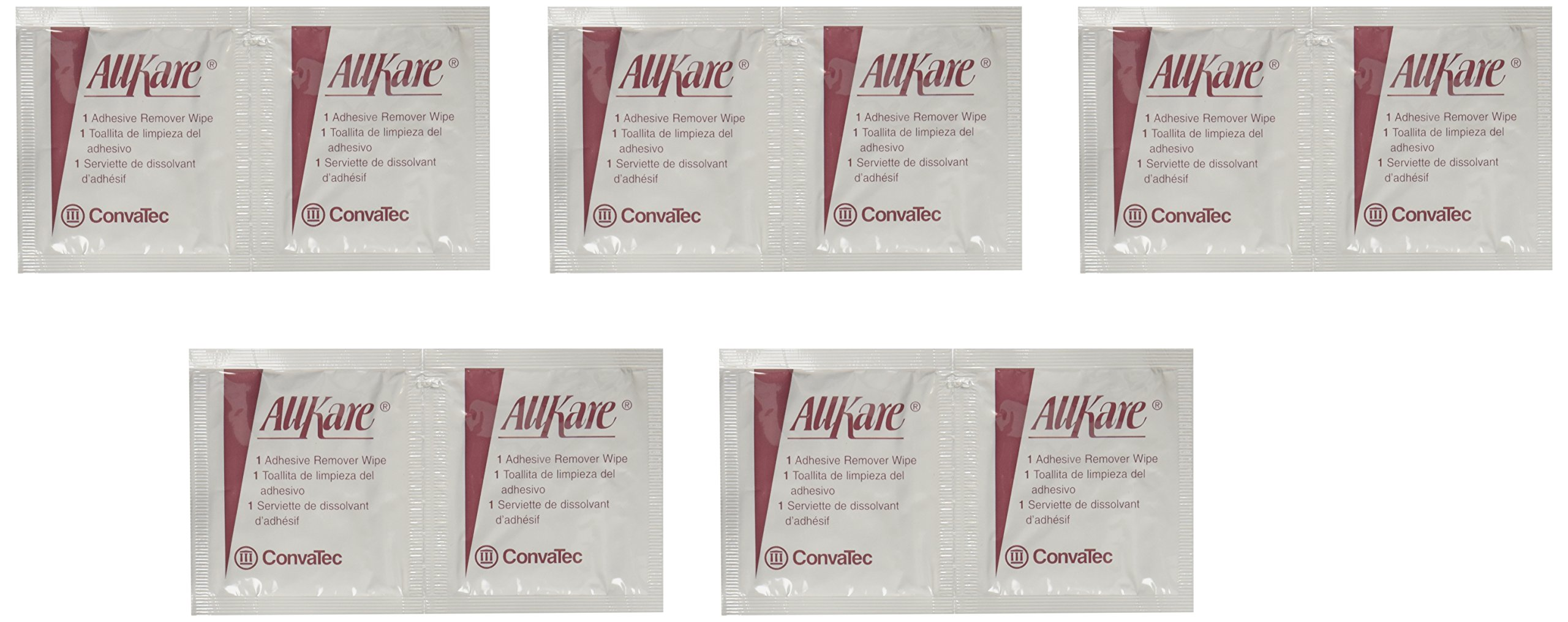 AllKare Adhesive Remover Wipe - 50 Pack product image