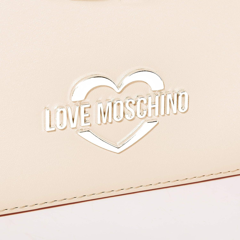 Love Moschino Jc4043pp1a, Sac porté main Beige (Naturale)