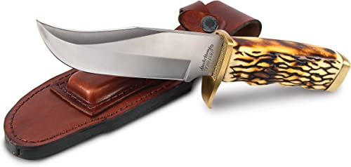 Uncle Henry 171UH Large Pro Hunter Rat Tail Tang Fixed Blade Knife