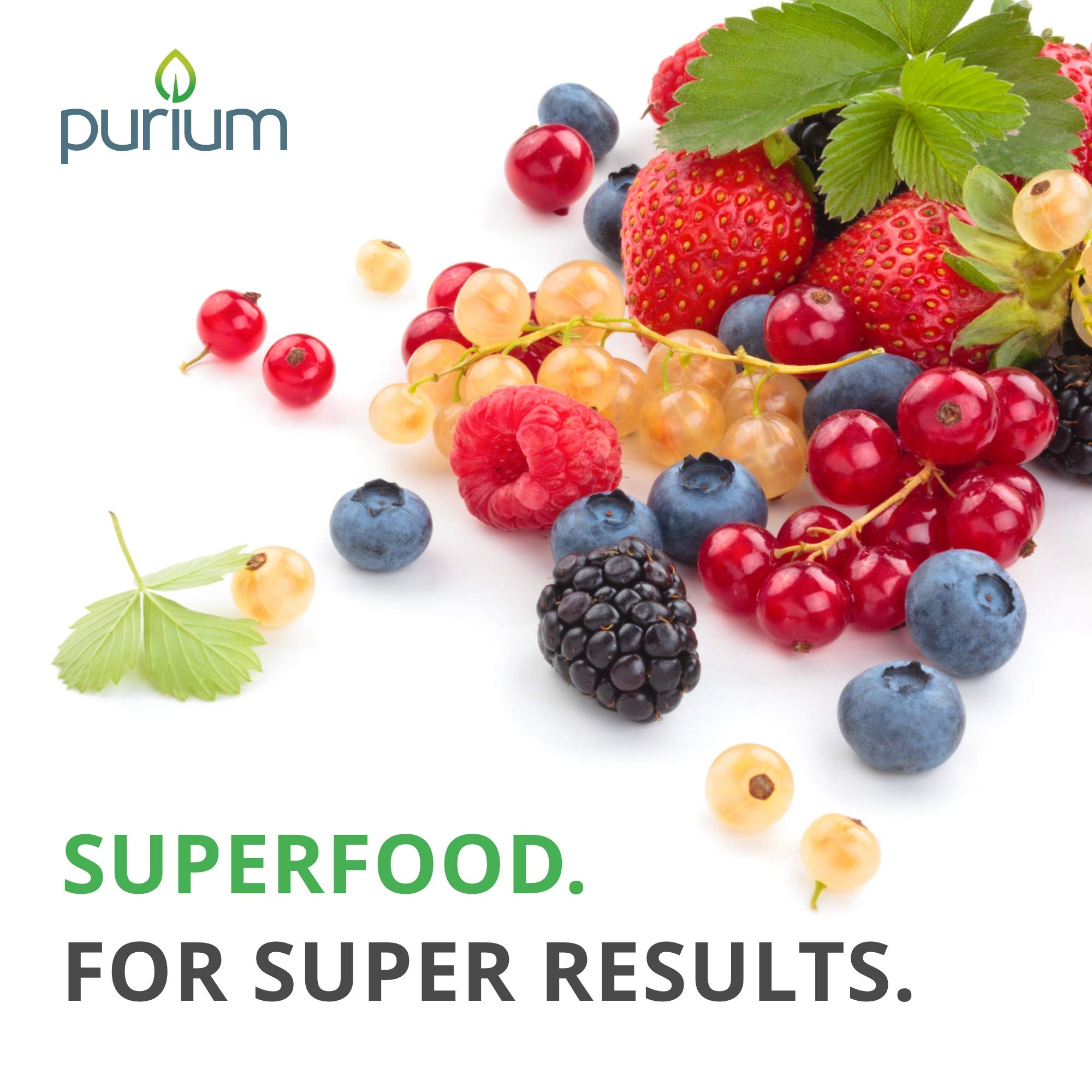 Purium Power Shake - Apple Berry Flavor - 1065 grams - Vegan Meal Replacement Powder, Protein, Vitamins & Minerals - Certified USDA Organic, Gluten Free, Kosher - 30 Servings by Purium (Image #5)