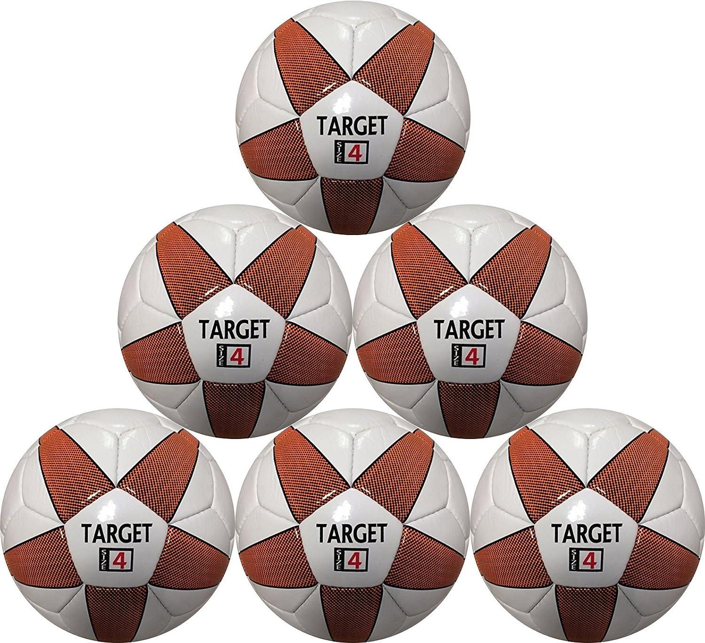 サッカーボールターゲット6ボールパックサイズ4 for Kids間8 & 12年の年齢の最適Soccerで購入 B079KL7SHG