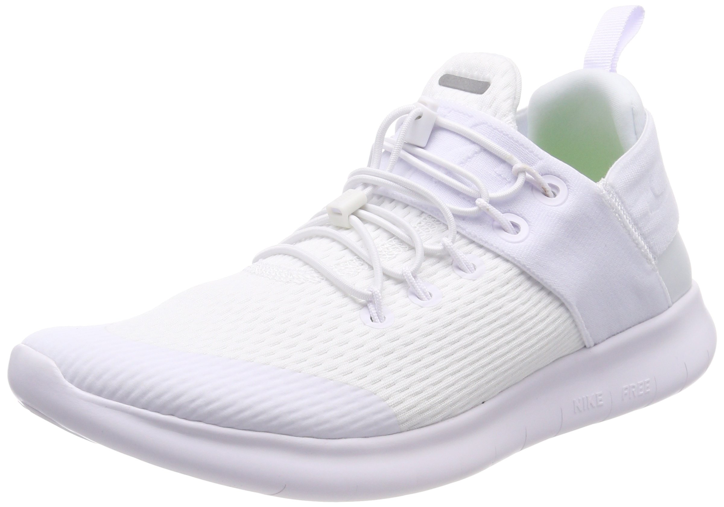 low priced 90542 5c545 Nike Mens Free RN Commuter 2017 Running Shoes White White 880841-100 Size  9.5