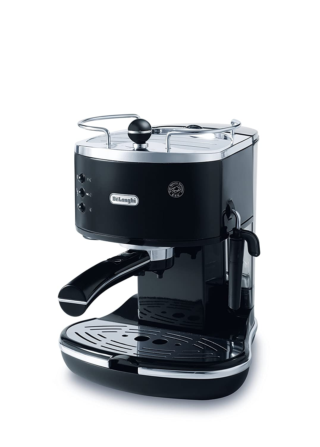 DeLonghi Icona Pump Espresso, Coffee Machine, ECO310BK, Black