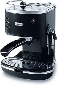 DeLonghi Icona Pump Espresso, Coffee Machine, ECO310BK, Black