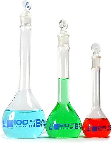 75c15e71ca2 ASTM Volumetric Flask Set -Class B- Eisco Labs -Borosilicate Glass- 25ml