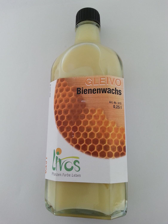 Livos GLEIVO Bienenwachs fü r Holz-, Kork- und Steinoberflä chen, Nr. 315