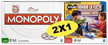 Hasbro Pack Monopoly Revolution + Hundir la Flota Ubuild - Pack ...