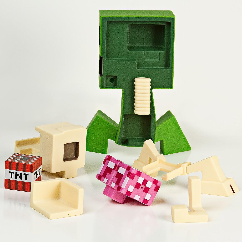 JINX Minecraft Creeper Anatomy Vinyl Figure Kit: Amazon.co.uk: Toys ...