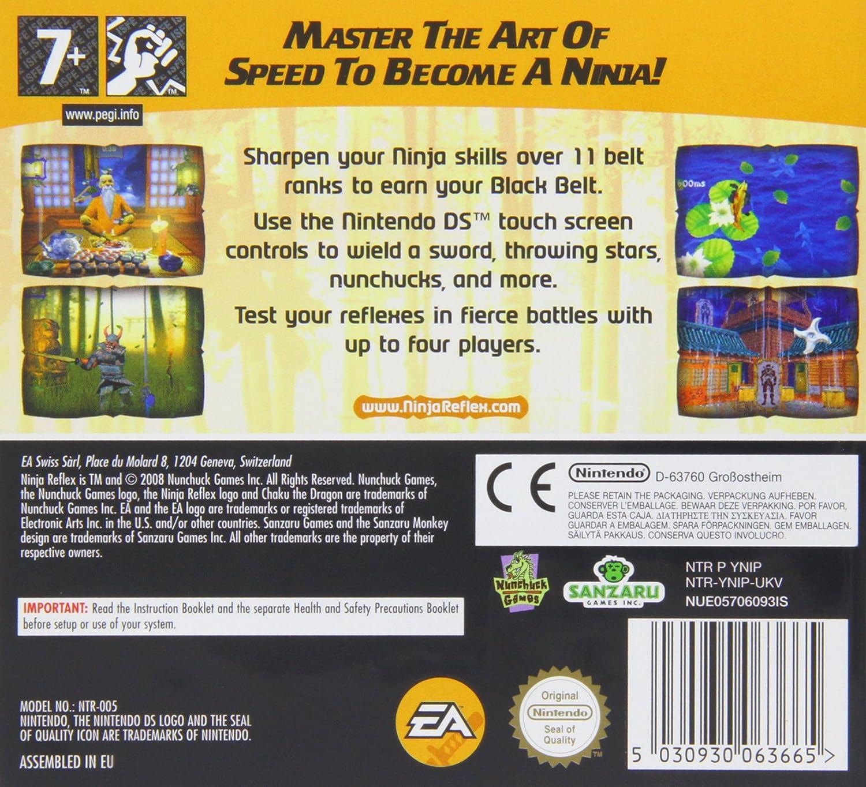 Electronic Arts Ninja Reflex, Nintendo DS - Juego (Nintendo ...