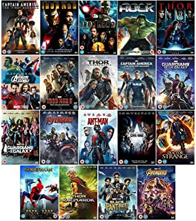 Marvel's The Avengers 12 Movies Complete DVD Collection: Ant Man