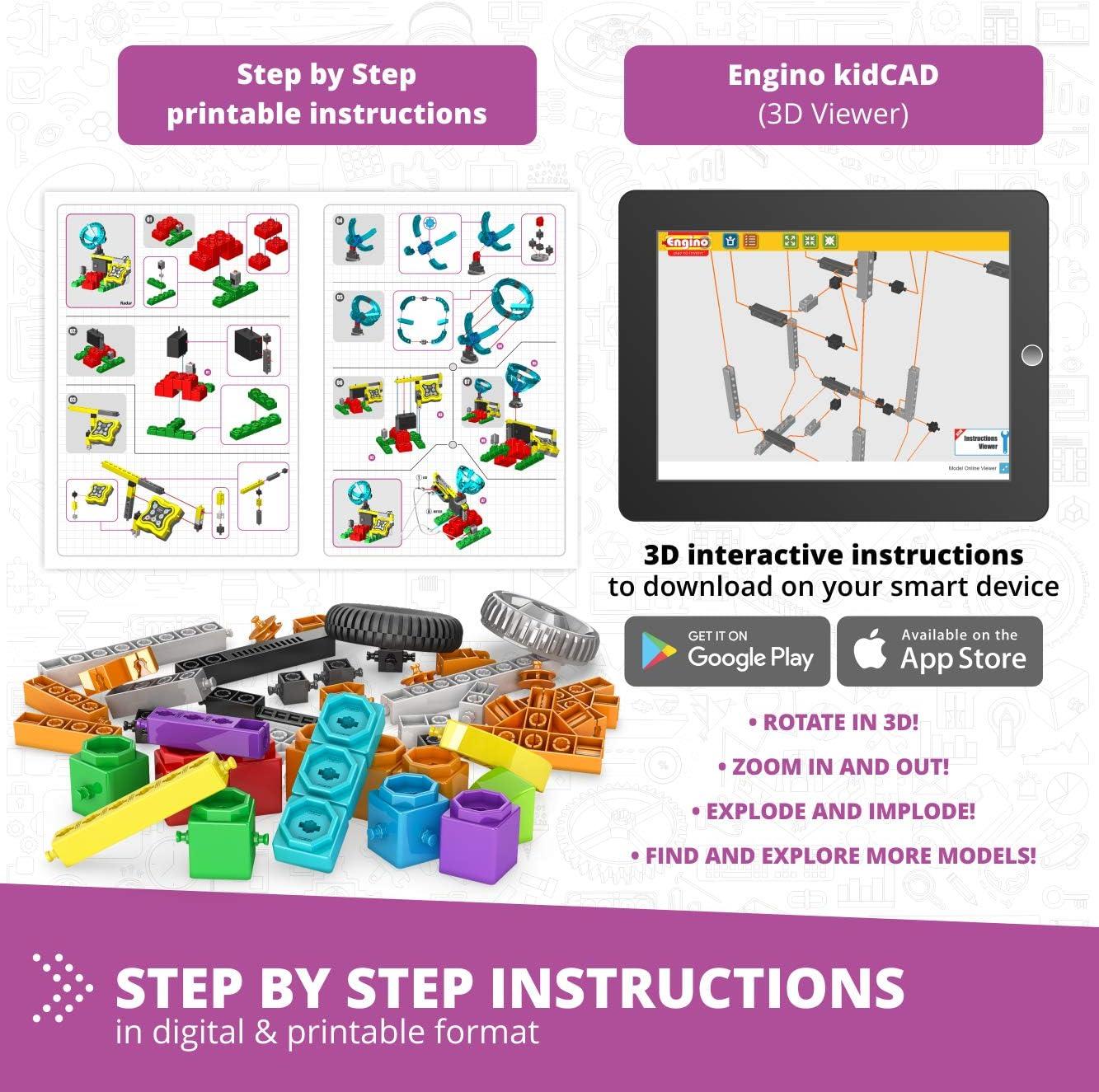Engino Education-EN00002 (E15): Amazon.es: Juguetes y juegos