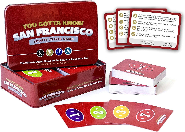 You Gotta Know San Francisco - Sports Trivia Game