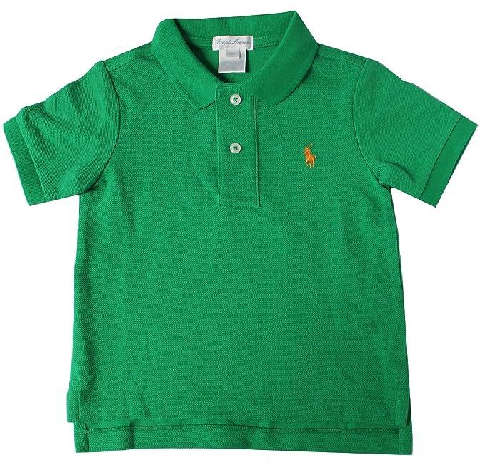 Polo Ralph Lauren - Camiseta - para bebé niño Verde Verde 9 Meses ...