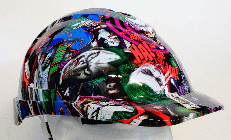 HARD HATS CUSTOMISED 100% LEGAL (JOKER ANI V9) COOL HARD HATS UK