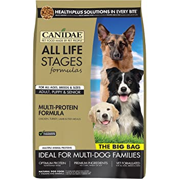 CANIDAE All Life Stages Dry Dog Food for Puppies, Adults & Seniors