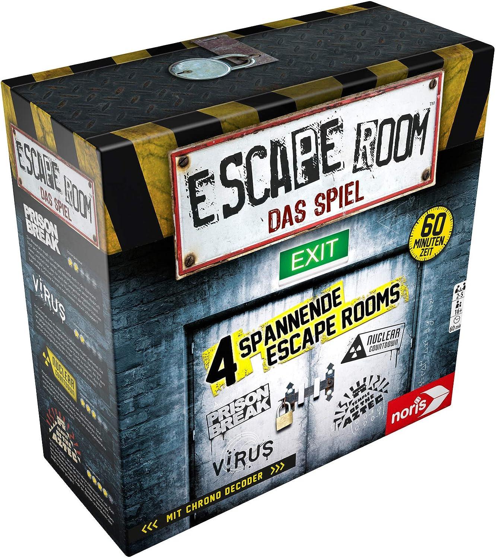 Noris Spiele 606101546 – Escape Room Incluye 4 Casos y Chrono ...