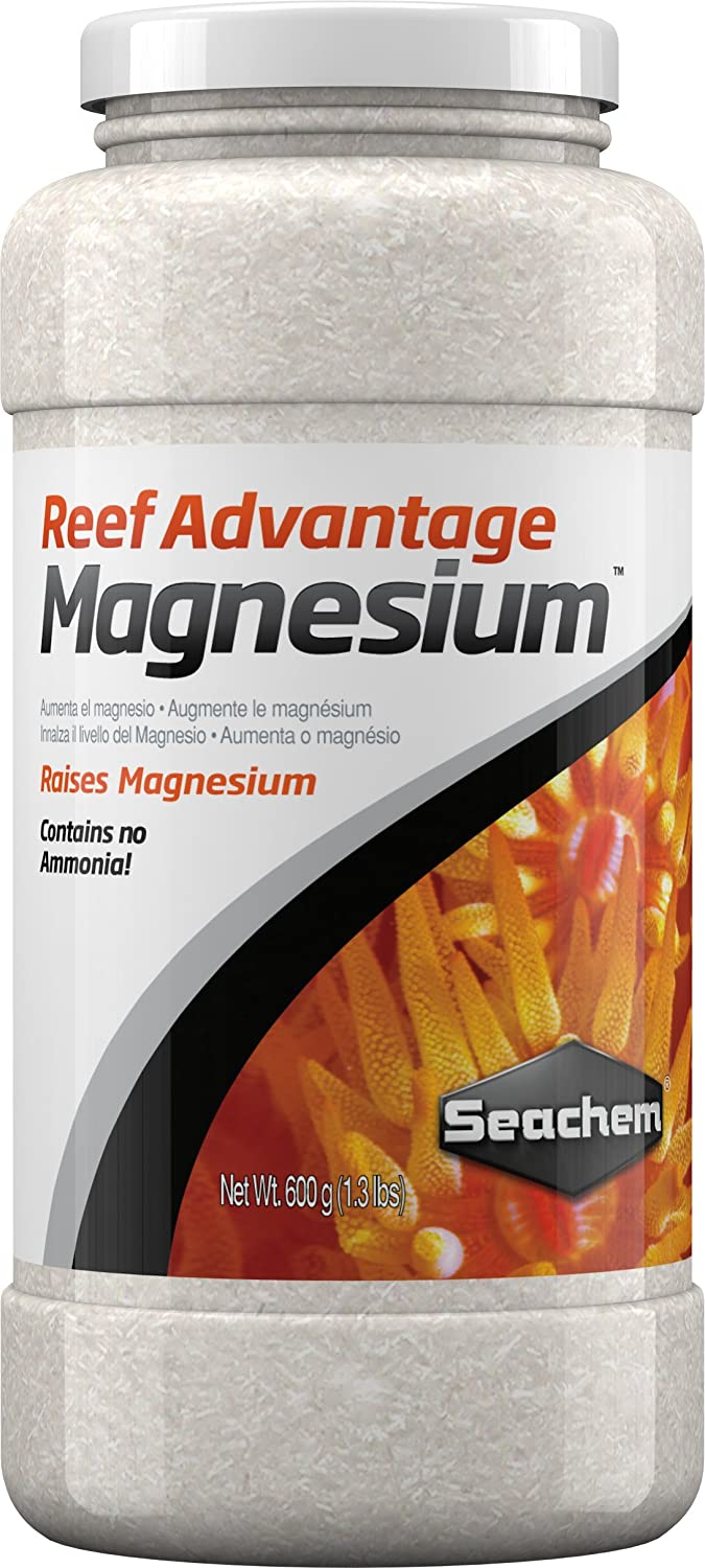 Amazon.com : Seachem Reef Advantage Magnesium 600gram : Aquarium Treatments : Pet Supplies