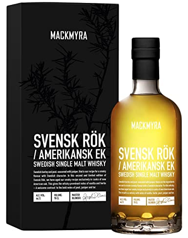 Mackmyra Svensk Rök American Oak Single Malt Whisky - 700 ml