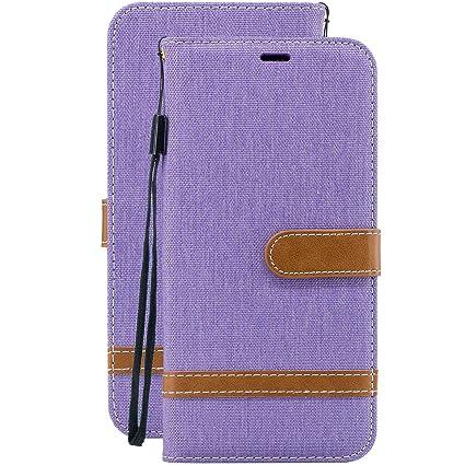 Laybomo Carcasa para Samsung Galaxy S10 Tapa Cuero Estilo de ...
