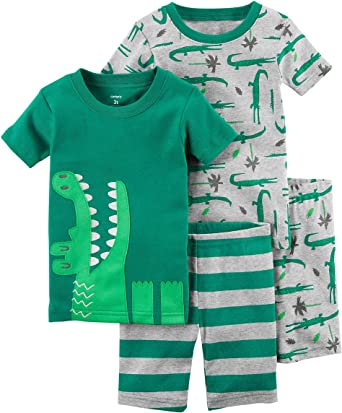 fa38be19c Amazon.com  Carter s Boys  4 Pc Cotton 341g285  Clothing