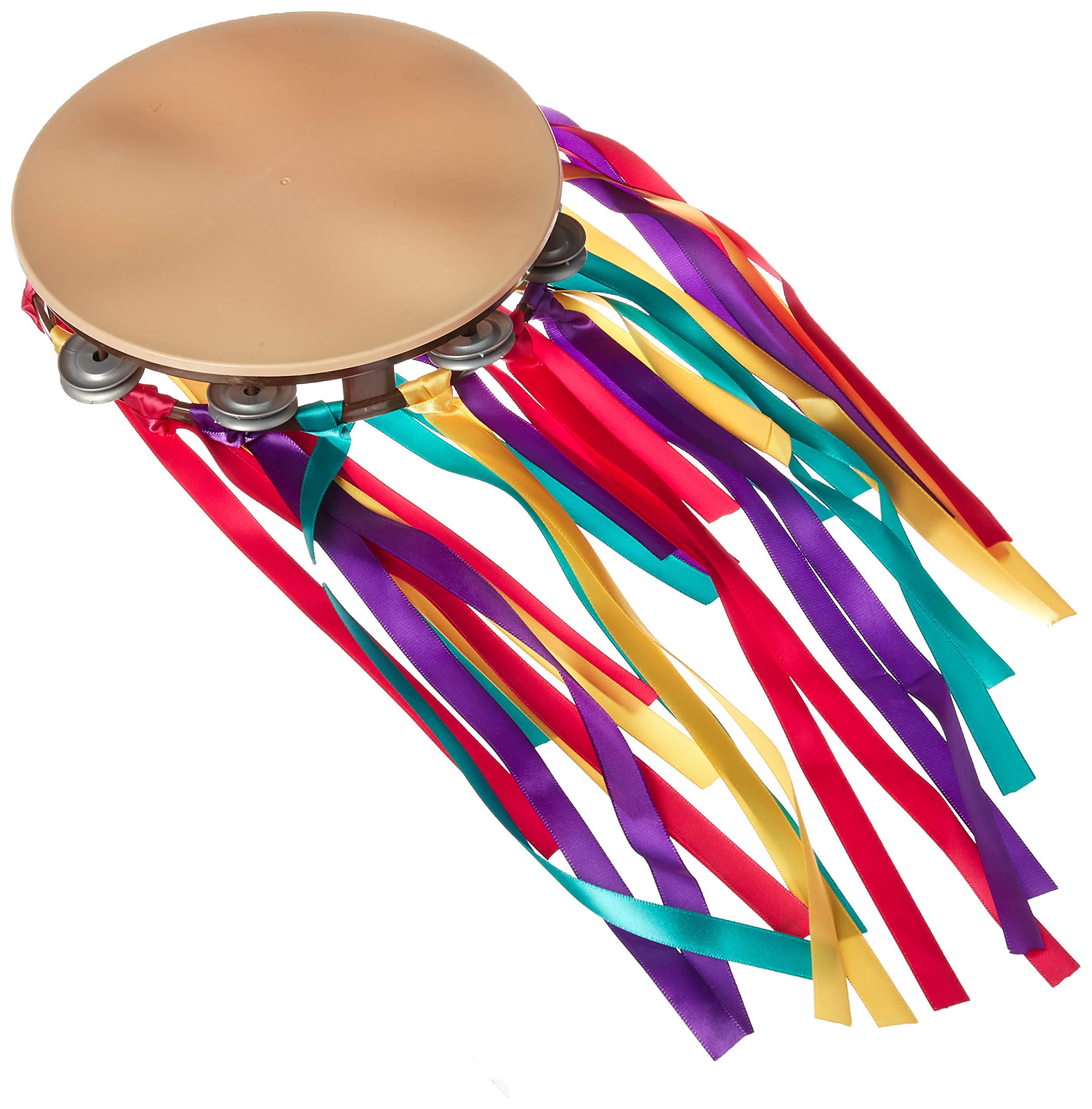 amscan Festival Tambourine, One Size, Multicolor by amscan