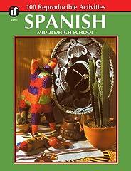Carson Dellosa | The 100+ Series Spanish Workbook | Grades 6–12, Printable