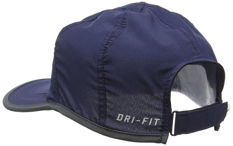 4b0af7b4 NIKE Featherlight 2.0 CAP blue Obsidian/Black/Anthracite/White Size:One  Size: Amazon.co.uk: Sports & Outdoors