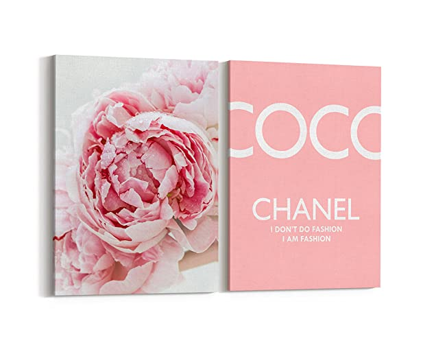Amazoncom Wall Art Poster Print Coco Chanel Vogue Famous