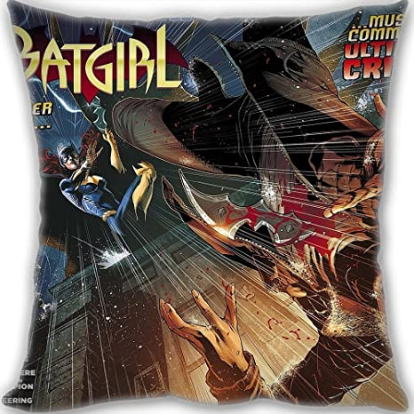 Amantes regalos personalizado Batgirl Home manta decorativa ...
