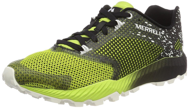 Merrell All out Crush 2, Zapatillas de Running para Asfalto para Hombre 40 EU|Negro (Black/Speed Green)
